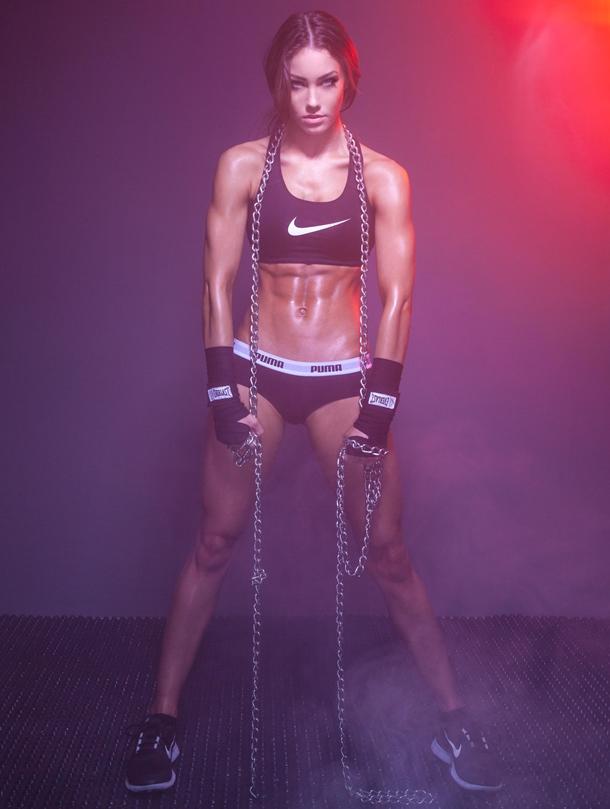 separation shoes d2b16 f7c50 Body building al femminile: Stephanie Davis - Body Nutrition ...