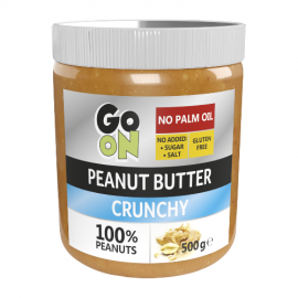 GO ON Crunchy Peanut butter...