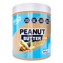 6PAK Nutrition Peanut Butter Crunchy - 908 gr