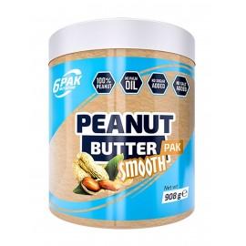 6PAK NUTRITION PEANUT BUTTER SMOOTH- 908 GR