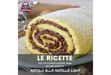 RICETTA: ROTOLO ALLA NUTELLA LIGHT