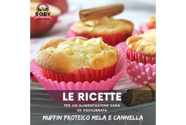RICETTA: MUFFIN PROTEICO MELA E CANNELLA