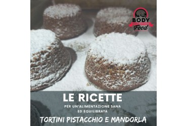RICETTA: TORTINI PISTACCHIO E MANDORLA